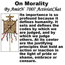 On Morality Part 1