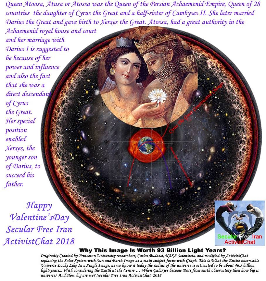 Happy Valentine's Day Secular Free Iran ActivistChat 2018