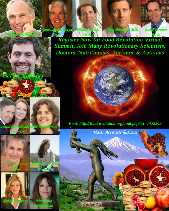 Invited to Register for Food Revolution Online Summit by Top Revolutionary Scientists, Doctors and Nutritionists