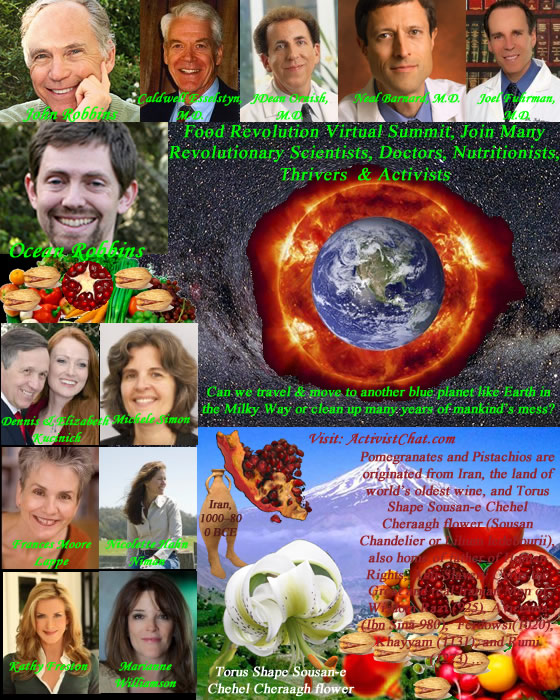 Food Revolution Virtual Summit, Join Many Revolutionary Scientists, Doctors, Nutritionists, Thrivers  & Activists